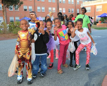 Big Brothers Big Sisters Hold Trick-or-Treating Event on Campus