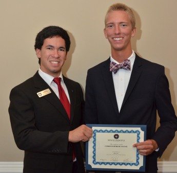Fraternity Awards 'Men of Principle Scholarship'
