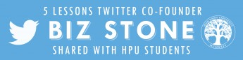5 Lessons Twitter Co-Founder Biz Stone Shared with HPU Students