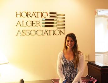 Student Interns at Horatio Alger Association