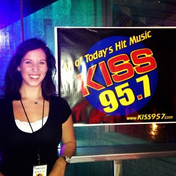 Internship Puts Communication Major Behind-the-Scenes of Leading Radio Stations