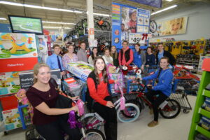 The Board of Stewards buys toys for the Salvation Army's Angel Tree