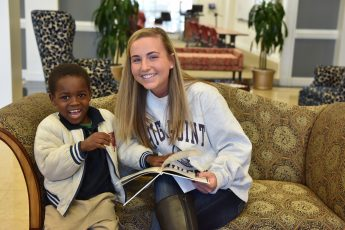 One for the Books: HPU Book Buddies Enjoy Holiday Celebration with Local Children