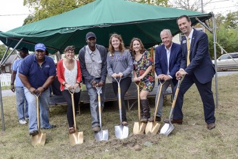 West End Neighborhood Breaks Ground on Community Garden