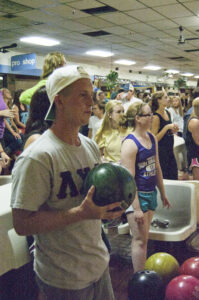 High Point University's Greek Week event, Bowl for Kids' Sake