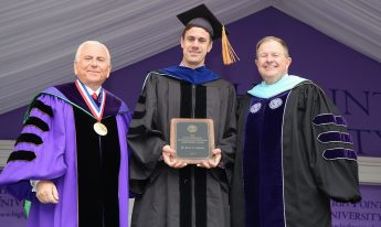 Brad Barlow Receives Ridenhour Scholarly and Professional Achievement Award