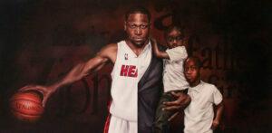 Brandon's Dwayne Wade Portrait