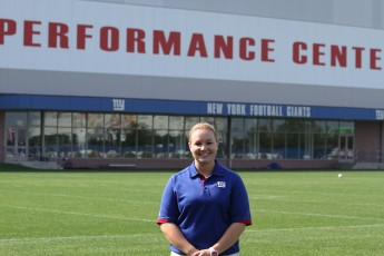 Athletic Training Major Interns with the New York Giants