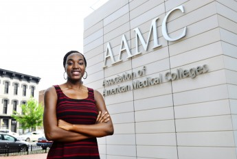 Class of 2014 Outcomes: Brittanie Joyner Represents AAMC in DC