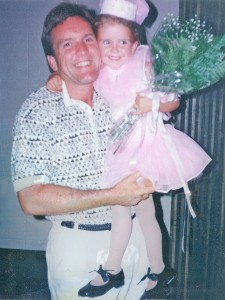 Brittany with her dad.
