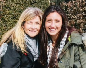 Brooke with her mom, Nancy