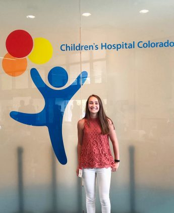 Internship Profile: Brooke Smith Confirms her Career Choice with Children's Hospital Colorado