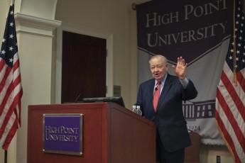 Senator James Broyhill Shares Stories of Capitol Building