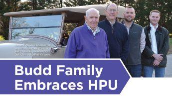The Budd Family Embraces HPU
