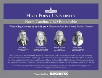 HPU to Host CEOs for Roundtable Discussion