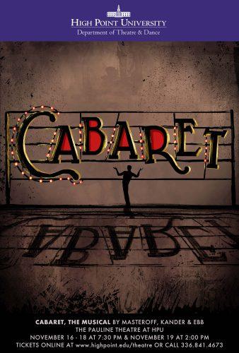 HPU Theatre Presents 'Cabaret'