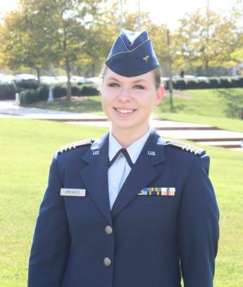 Class of 2019 Outcomes: Amy Greaves Remotely Pilots for the U.S. Air Force