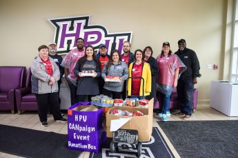 HPU Students Give to United Way's 'CANpaign'