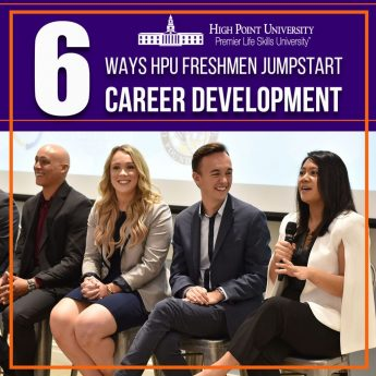 Top 6 Ways HPU Freshmen Jumpstart Career Development