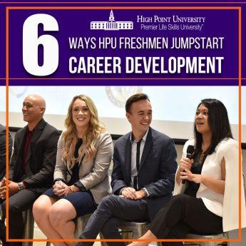 Top 6 Ways HPU Freshmen Jumpstart Career Development