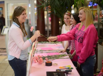 Students Sell Carnations for Children's Miracle Network Hospitals