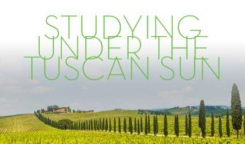Studying Under the Tuscan Sun