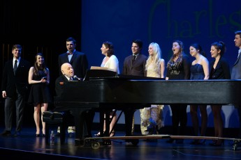 Broadway Legend Charles Strouse Shares Expertise and Talent with Students