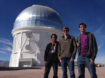 Physics Students Study Stars at Chile Observatory