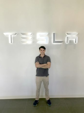 Internship Profile: Tesla Selects Christopher Schorn for Digital Products Team