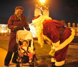 High Point University Christmas Community event