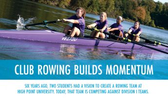 Club Rowing Builds Momentum