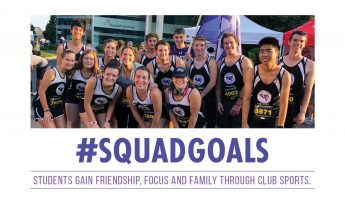 #SquadGoals: Students Gain Friendship, Focus and Family Through Club Sports