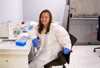Biology Major Gains Research Experience at Internship