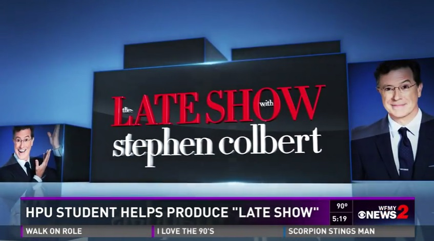 Student Interns at 'The Late Show with Stephen Colbert