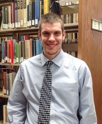 Class of 2015 Outcomes: Cole Gibson Pursues Master's in Library Science