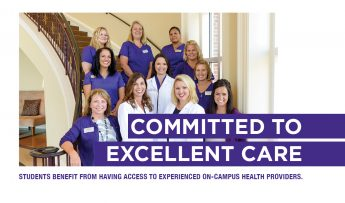 Committed to Excellent Care: Student Health Services