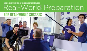 Nido R. Qubein School of Communication Provides Real-World Preparation for Real-World Success
