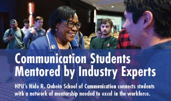 Communication Students Mentored by Industry Experts