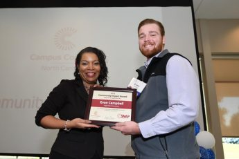 HPU Student Honored for Community Service