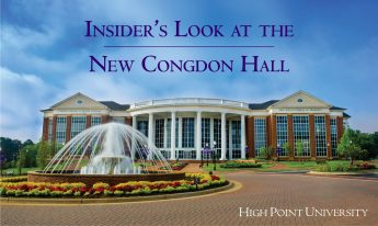 Insider's Look at the New Congdon Hall