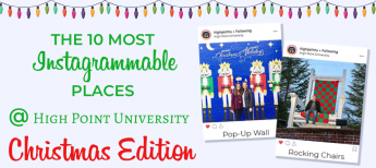 Top 10 Most Instagrammable Spots on Campus: Christmas Edition