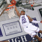 HPU High Point University Corey Law Dunk Globetrotters