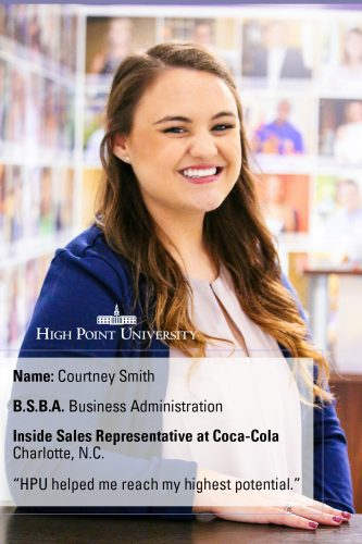 Class of 2016 Profile: Courtney Smith Lands Job at Coca-Cola