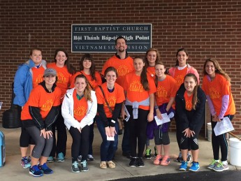Students Raise $2,000 for CROP Hunger Walk