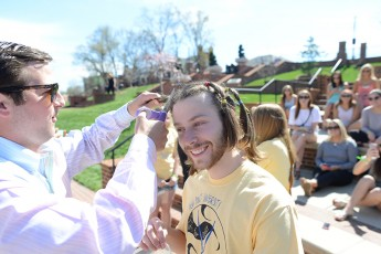 3,2,1 Cut: Students Chop off Their Hair to Help Cancer Patients