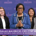 Cynt Marshall High Point University's Sports Executive in Residence