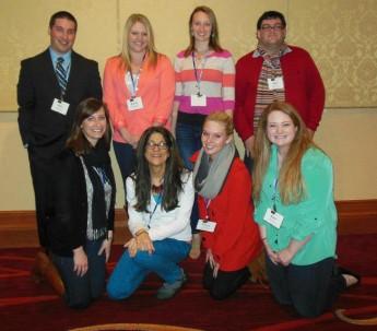 Undergraduates Present at Professional Conference