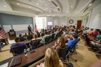 Educator and Entrepreneur Stedman Graham Visits HPU