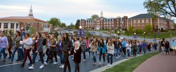 Sorority Raises Domestic Violence Awareness through Campus-Wide Walk