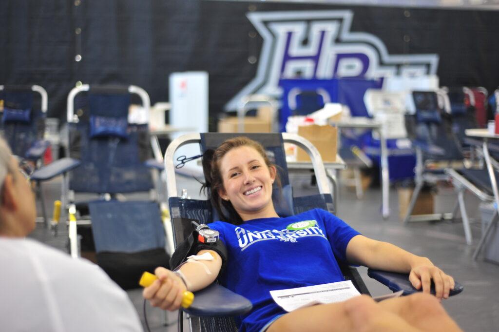 HPU, High Point University Red Cross